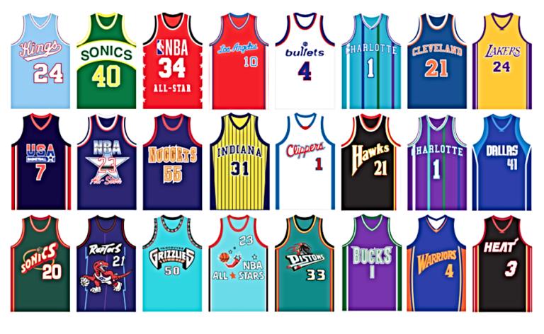 Почему ретро майки NBA - это случай из серии «Назад в будущее»