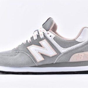 New Balance 574 Grey Pink 1