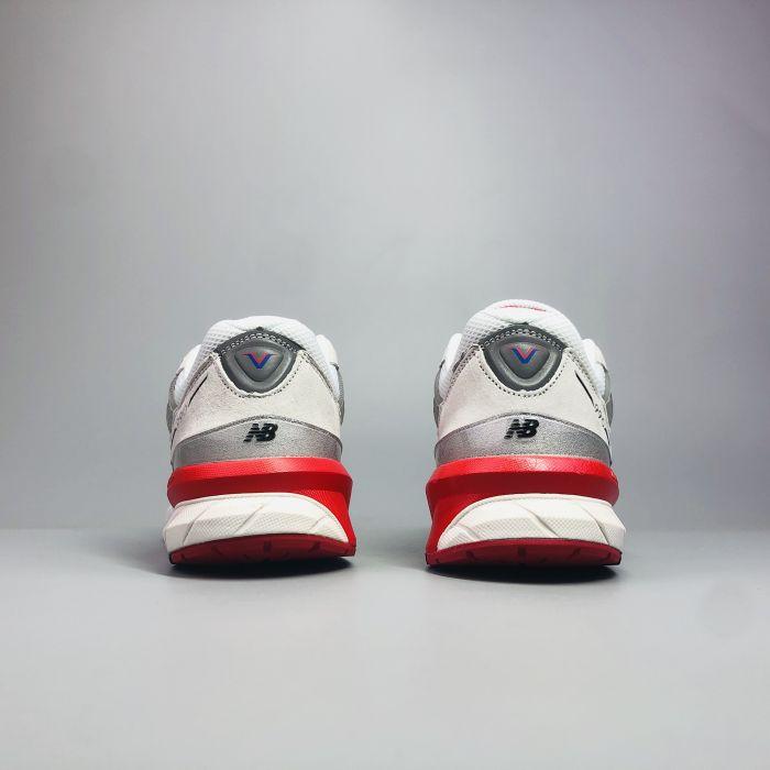 New Balance 990 V5 Grey Royal Red 3