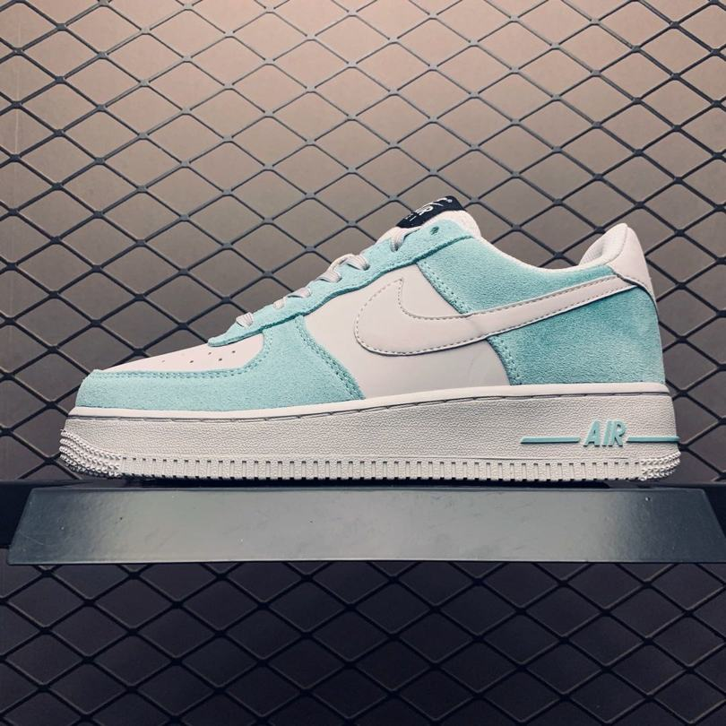 Nike Air Force 1 GS Island Green 1