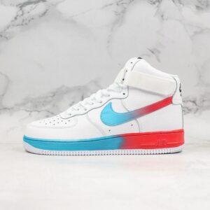 Nike Air Force 1 High 07 LV8 Blue Ember Glow 1