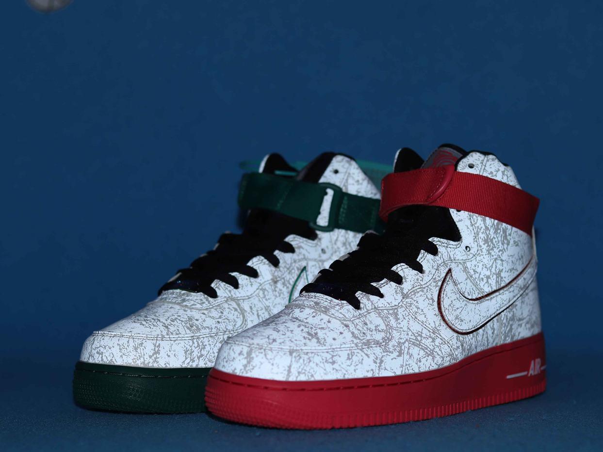 Nike Air Force 1 High 07 LV8 China Hoop Dreams 4