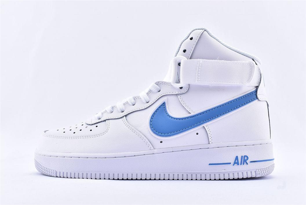 Nike Air Force 1 High 07 Photo Blue 1