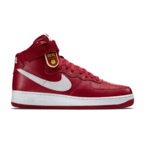 Nike Air Force 1 High Nai Ke Gym Red 2015