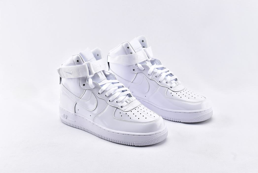 Nike Air Force 1 High QS Sheed Triple White 2