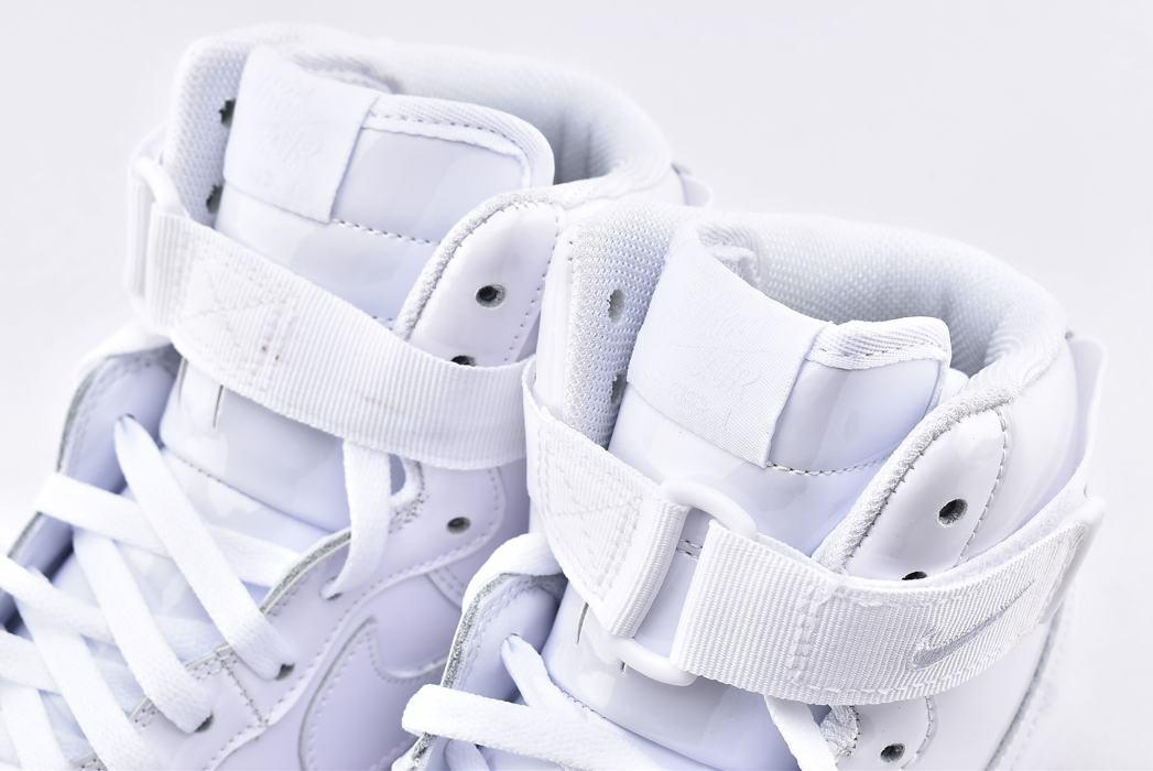 Nike Air Force 1 High QS Sheed Triple White 4