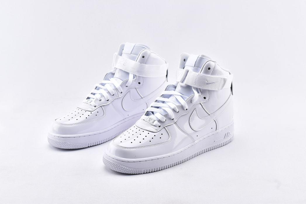Nike Air Force 1 High QS Sheed Triple White 5