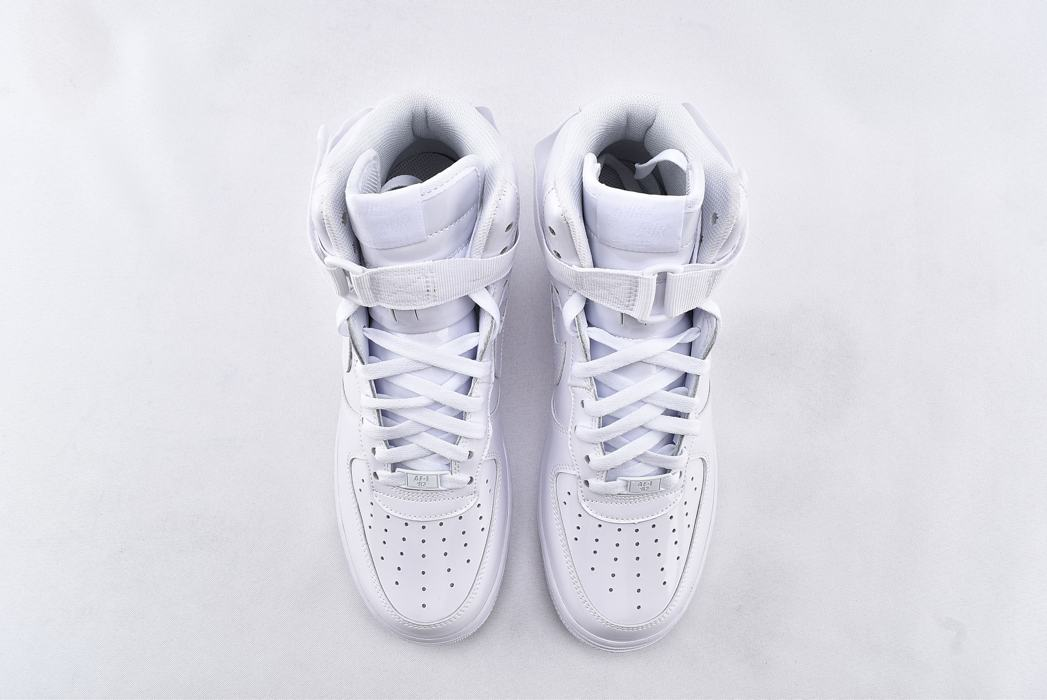 Nike Air Force 1 High QS Sheed Triple White 6