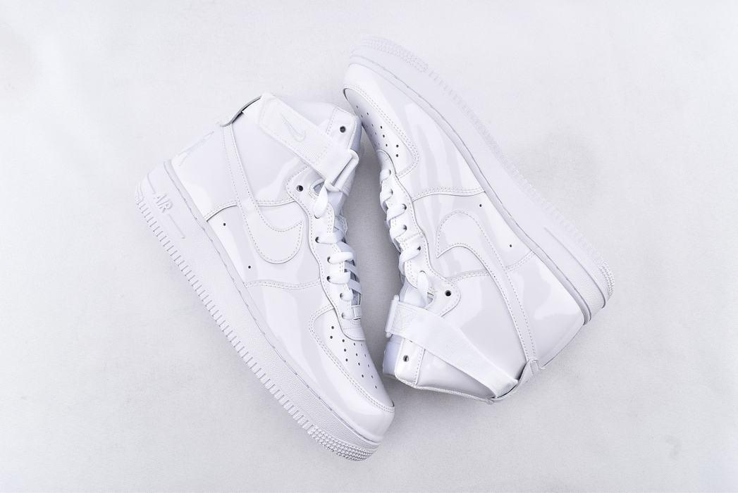 Nike Air Force 1 High QS Sheed Triple White 7