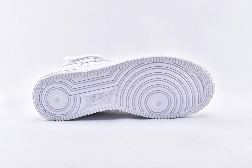 Nike Air Force 1 High QS Sheed Triple White 8