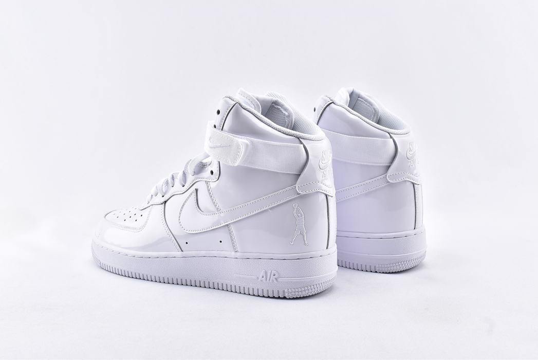 Nike Air Force 1 High QS Sheed Triple White 9