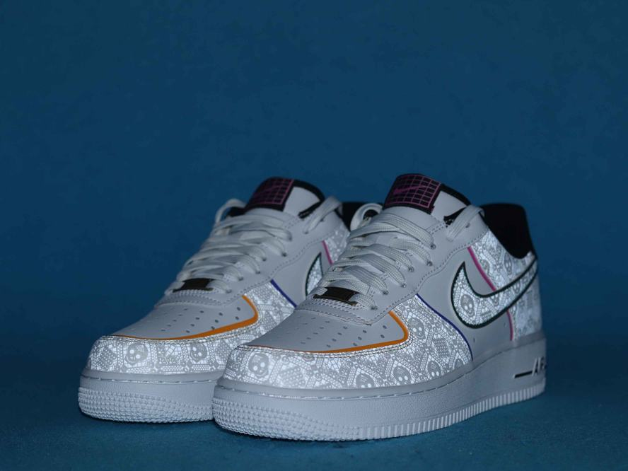 Nike Air Force 1 Low Day of the Dead 2019 8