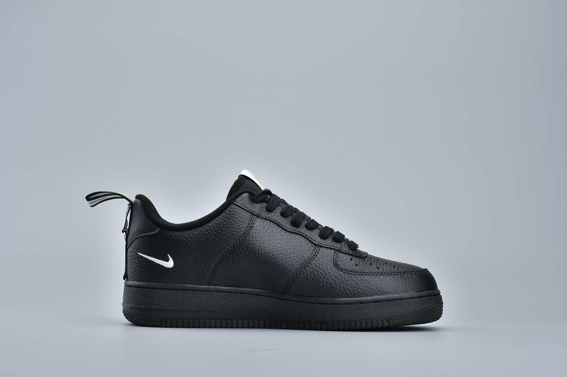 Nike Air Force 1 Low Utility Black White 1