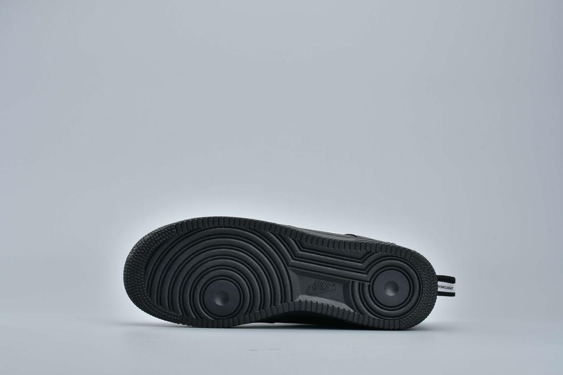 Nike Air Force 1 Low Utility Black White 10
