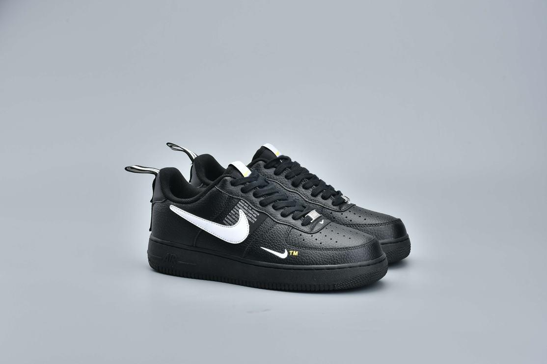 Nike Air Force 1 Low Utility Black White 11
