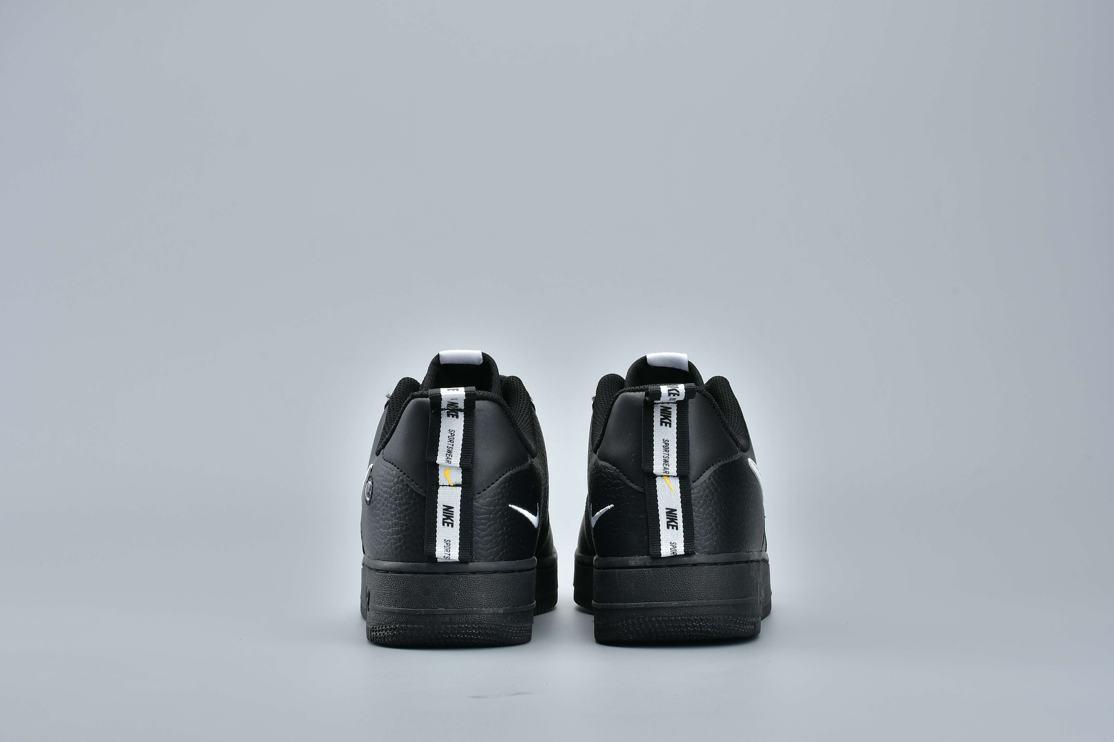 Nike Air Force 1 Low Utility Black White 2