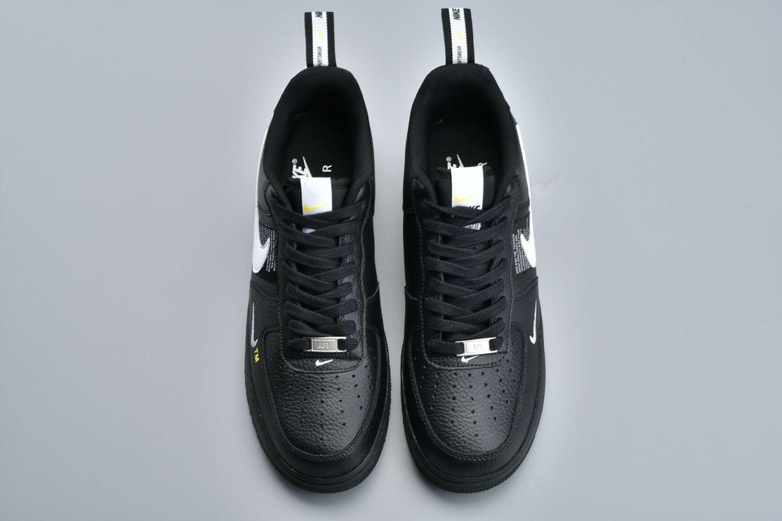 Nike Air Force 1 Low Utility Black White 3