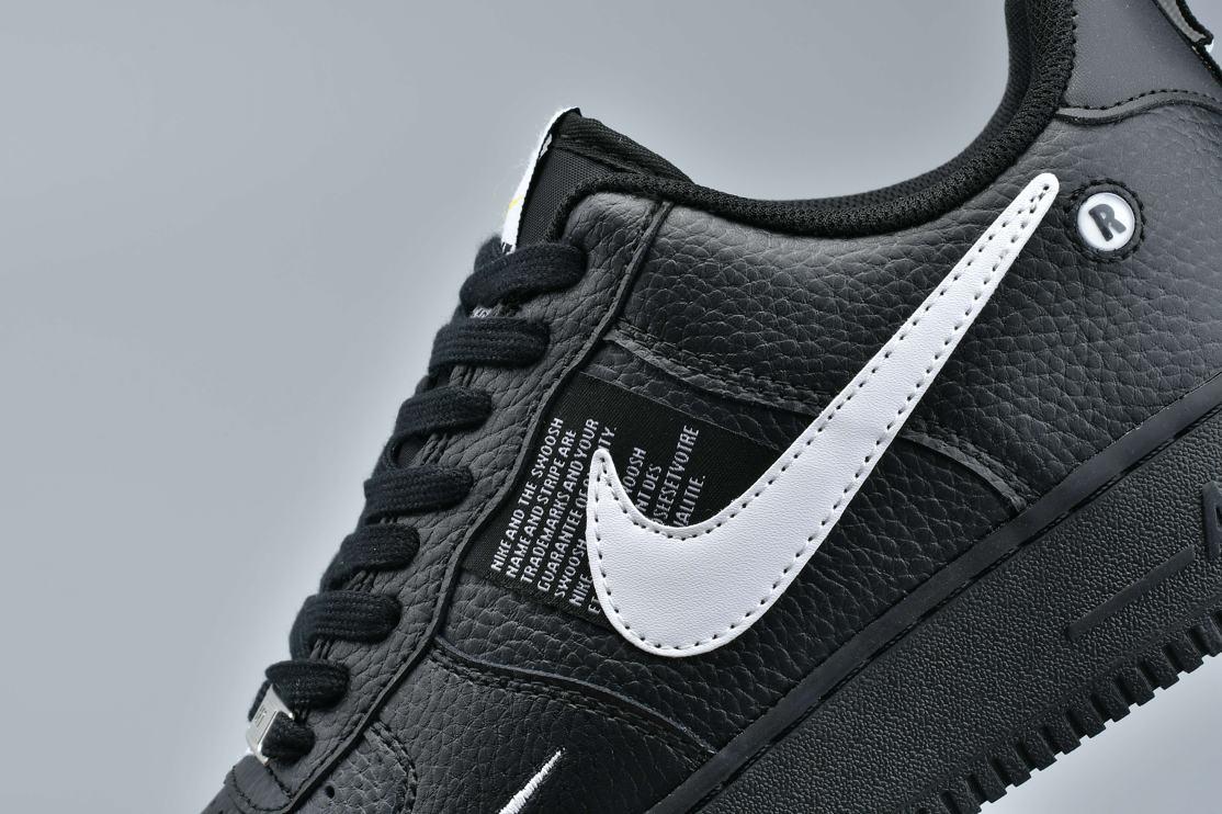 Nike Air Force 1 Low Utility Black White 4