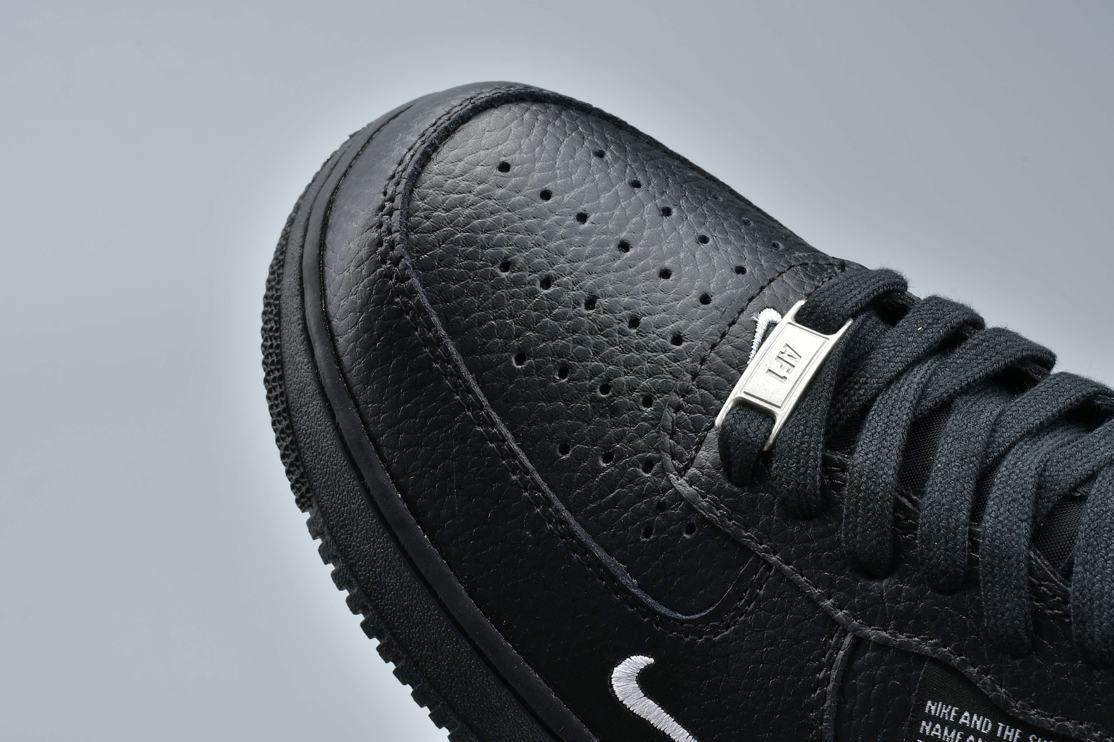 Nike Air Force 1 Low Utility Black White 5