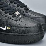 Nike Air Force 1 Low Utility Black White 7