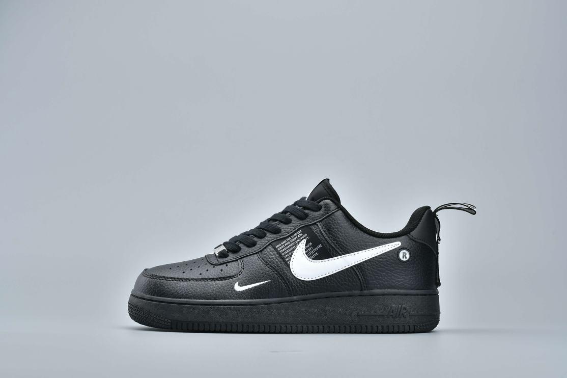 Nike Air Force 1 Low Utility Black White 8