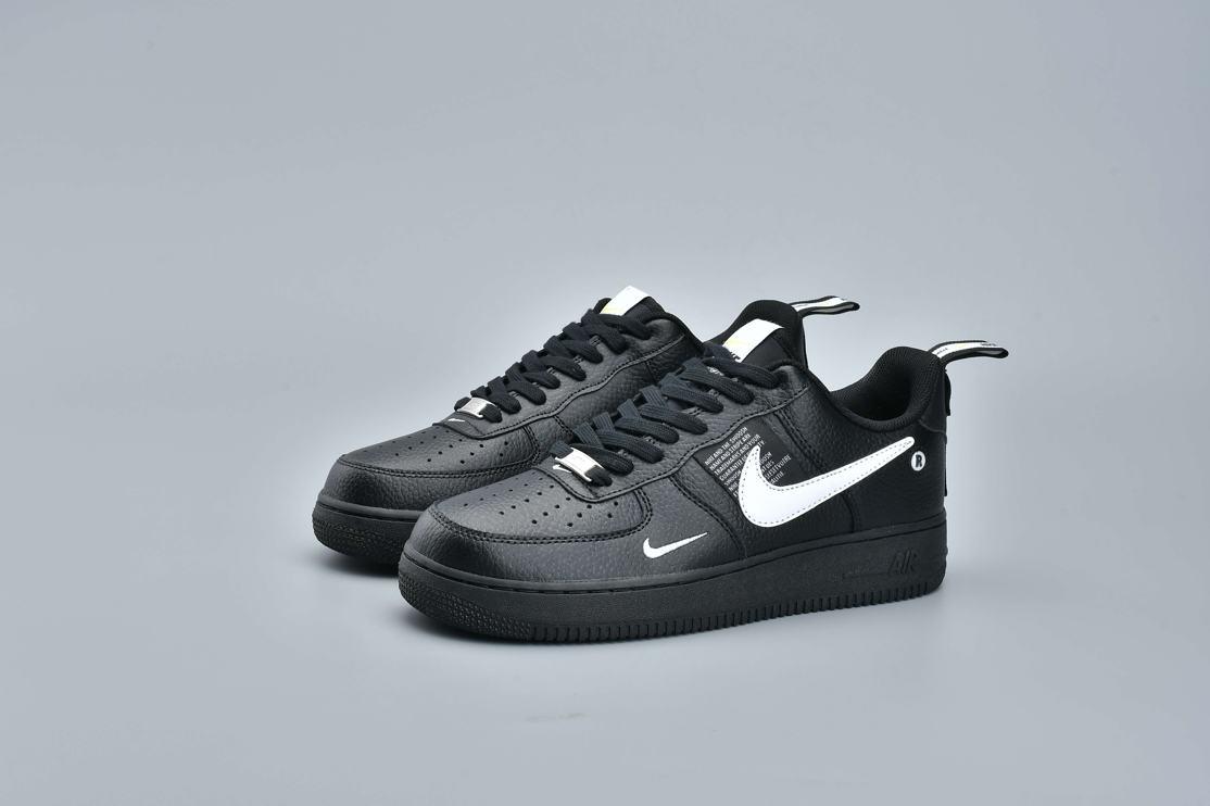Nike Air Force 1 Low Utility Black White 9