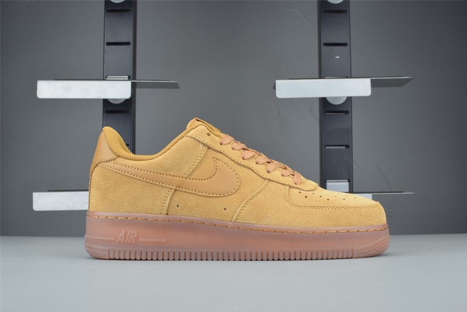Nike Air Force 1 Low Wheat 2019 GS 1
