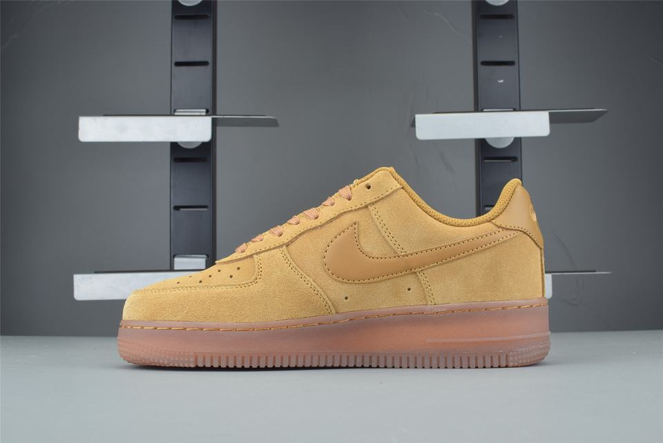 Nike Air Force 1 Low Wheat 2019 GS 2