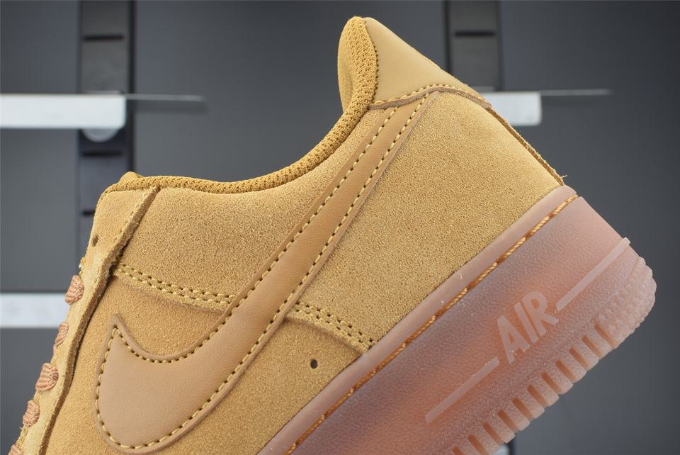 Nike Air Force 1 Low Wheat 2019 GS 6