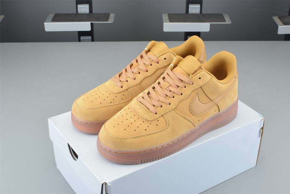 Nike Air Force 1 Low Wheat 2019 GS 7