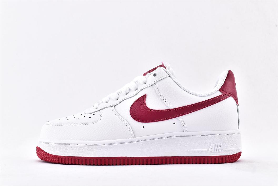Nike Air Force 1 Low White Wild Cherry W 1