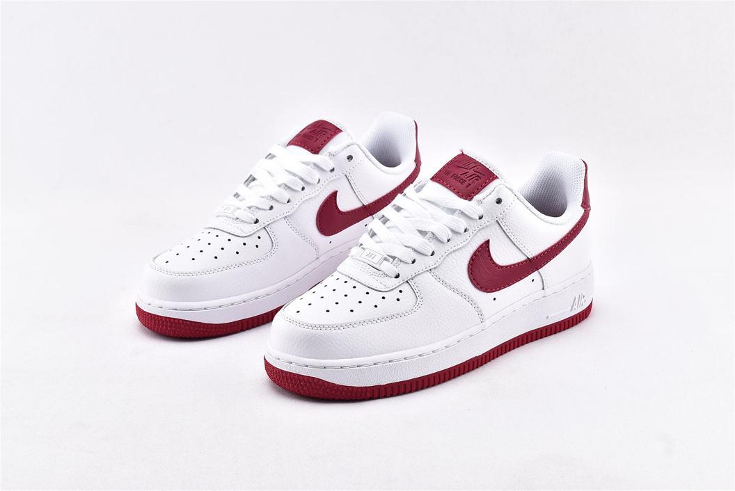 Nike Air Force 1 Low White Wild Cherry W 5