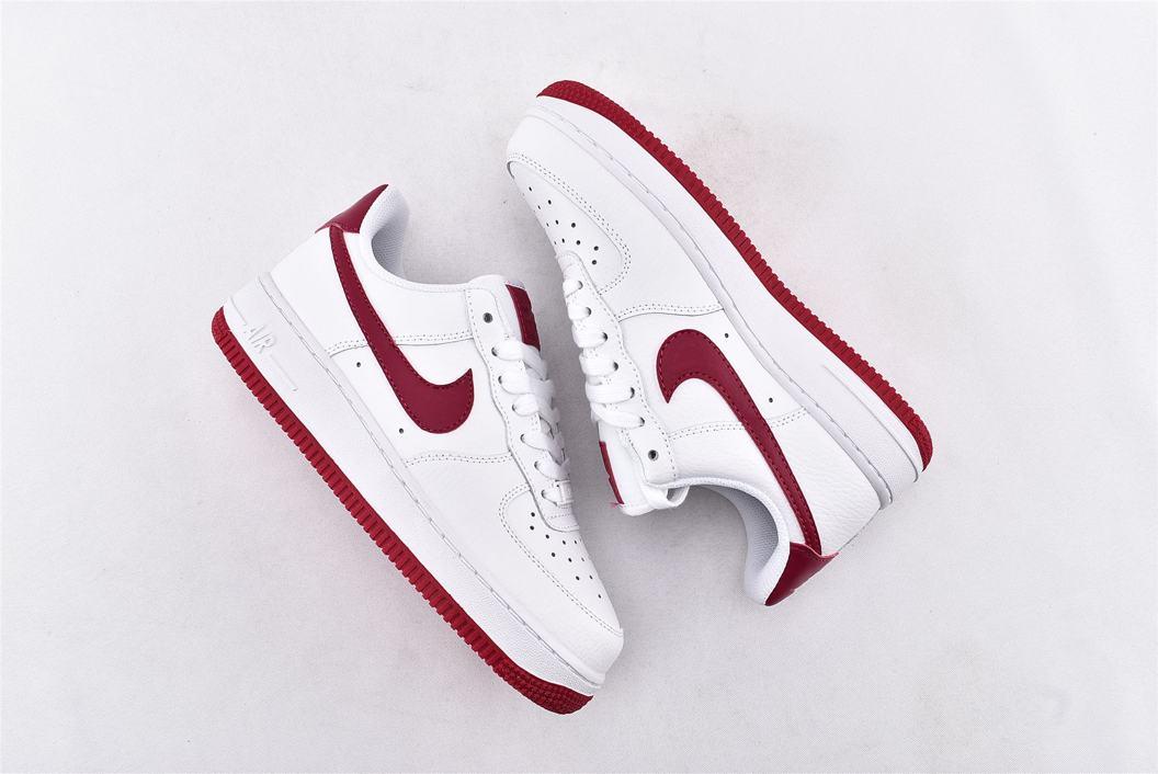 Nike Air Force 1 Low White Wild Cherry W 7
