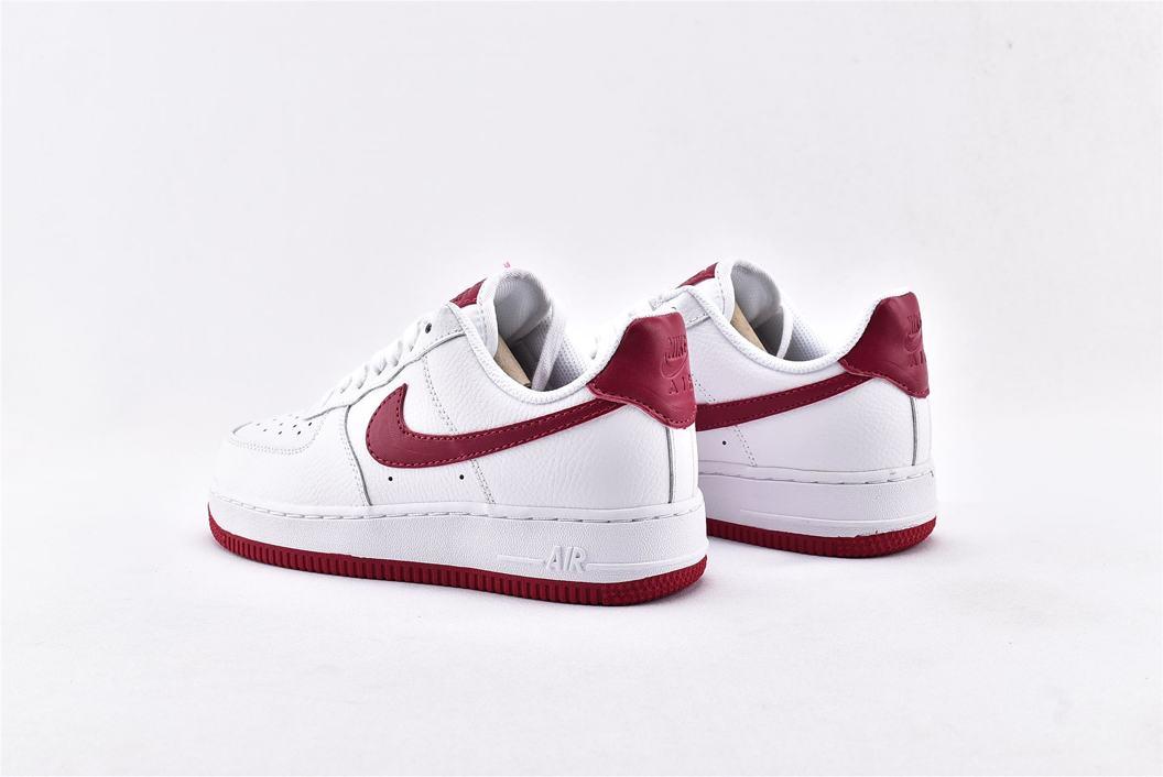 Nike Air Force 1 Low White Wild Cherry W 9