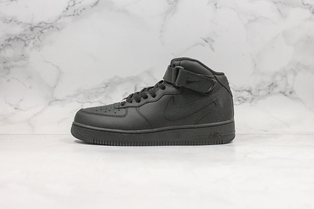 Nike Air Force 1 Mid Black 2016 1