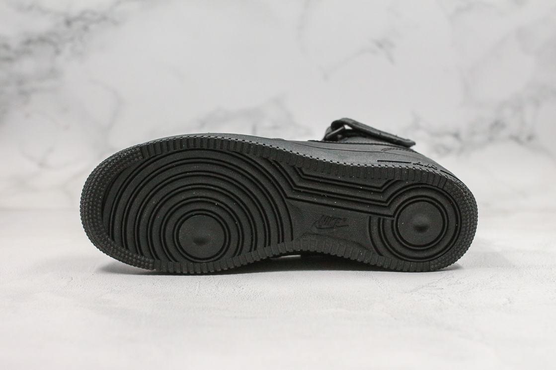 Nike Air Force 1 Mid Black 2016 3