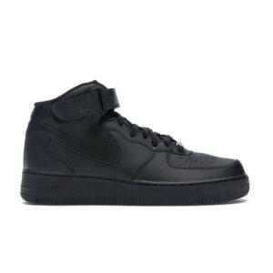 Nike Air Force 1 Mid Black 2016