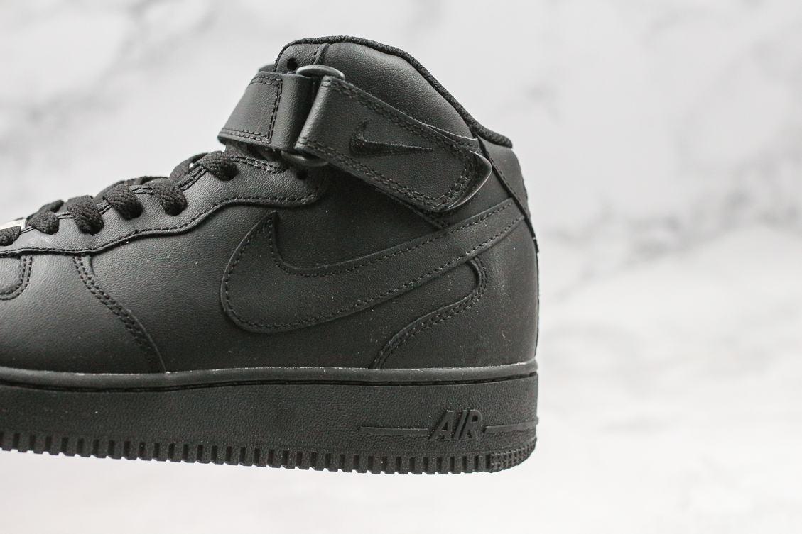 Nike Air Force 1 Mid Black 2016 4