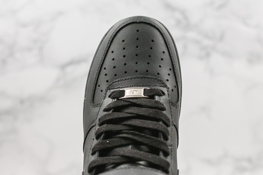 Nike Air Force 1 Mid Black 2016 5
