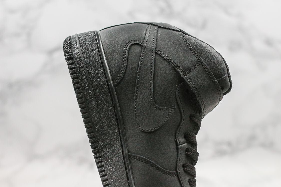Nike Air Force 1 Mid Black 2016 6