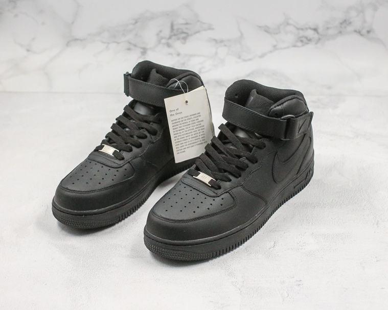 Nike Air Force 1 Mid Black 2016 7
