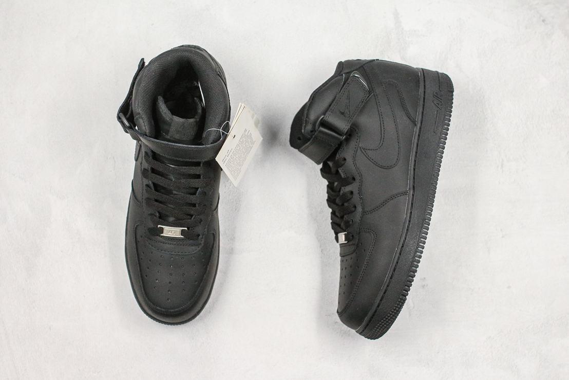 Nike Air Force 1 Mid Black 2016 8