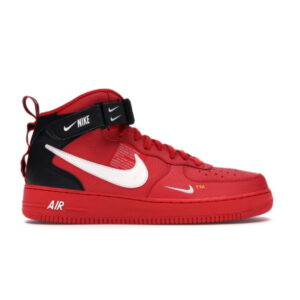 Nike Air Force 1 Mid Utility University Red