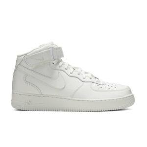 Nike Air Force 1 Mid White 07