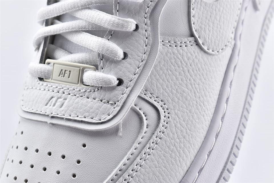Nike Air Force 1 Shadow Triple White W 10