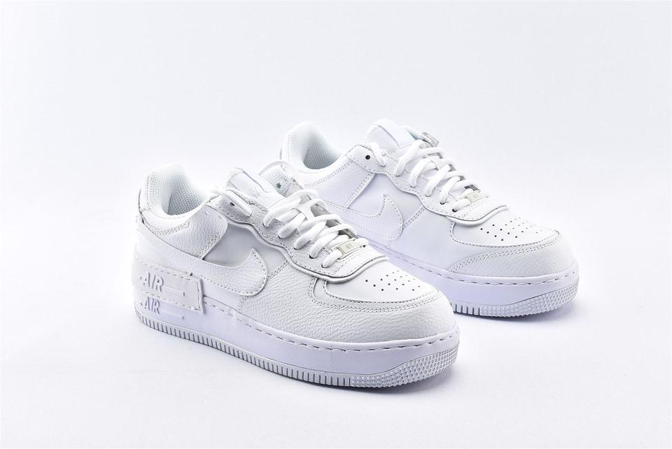 Nike Air Force 1 Shadow Triple White W 2