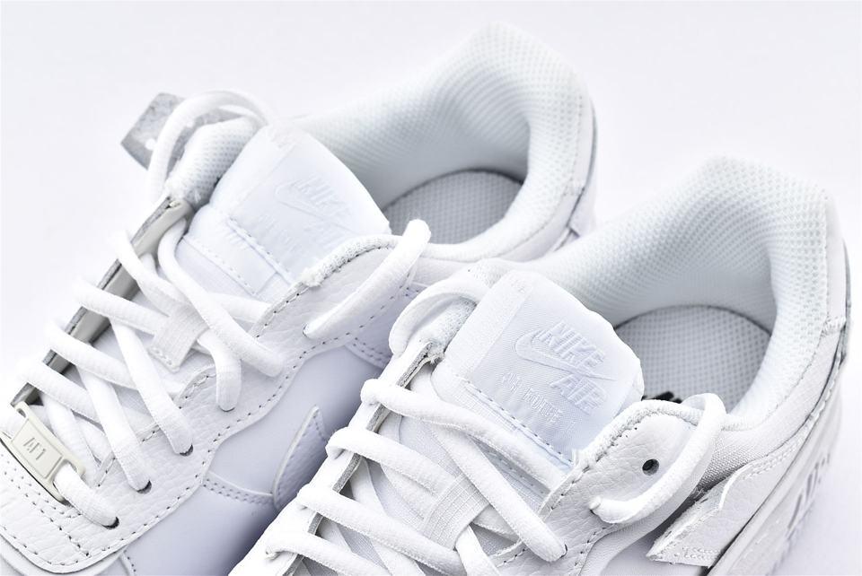 Nike Air Force 1 Shadow Triple White W 4