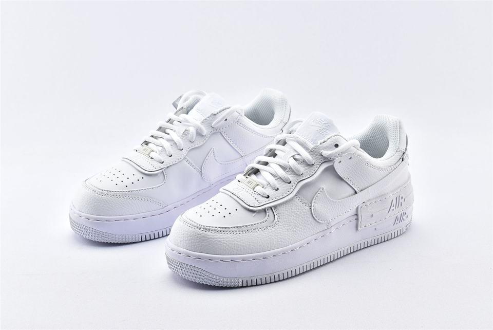 Nike Air Force 1 Shadow Triple White W 5