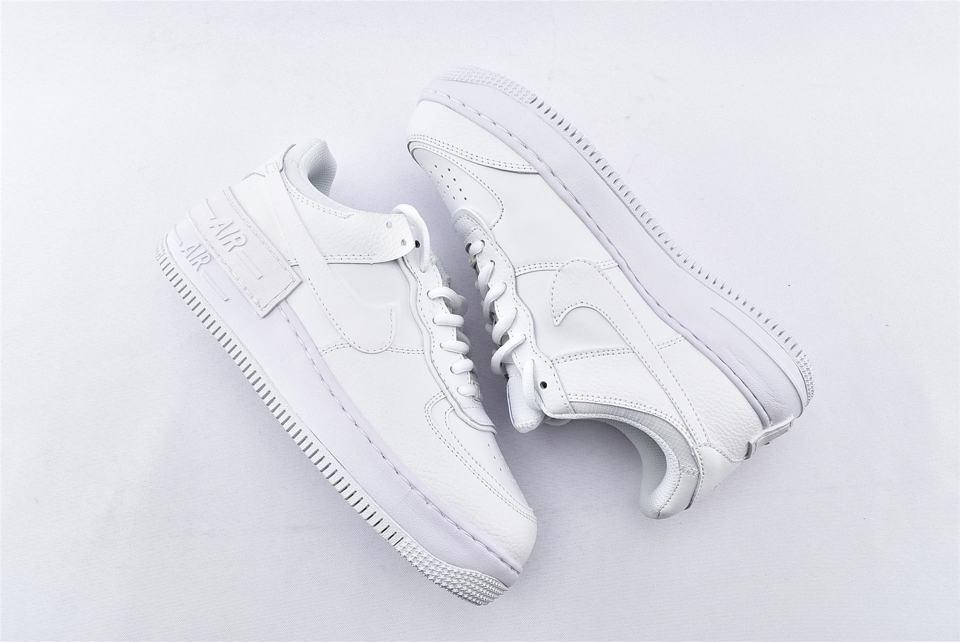 Nike Air Force 1 Shadow Triple White W 7