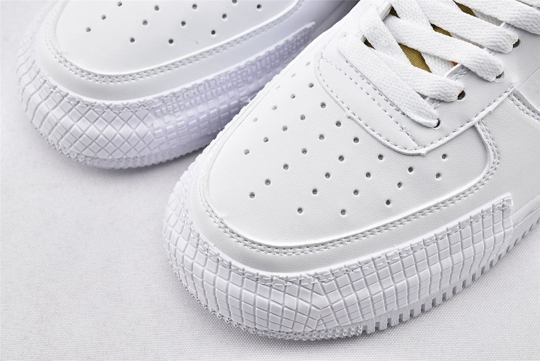 Nike Air Force 1 Type White Gold 3